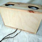 Test der Volksbox. Weniger Aufwand durch die Verwendung einer vorgefertigten Box.